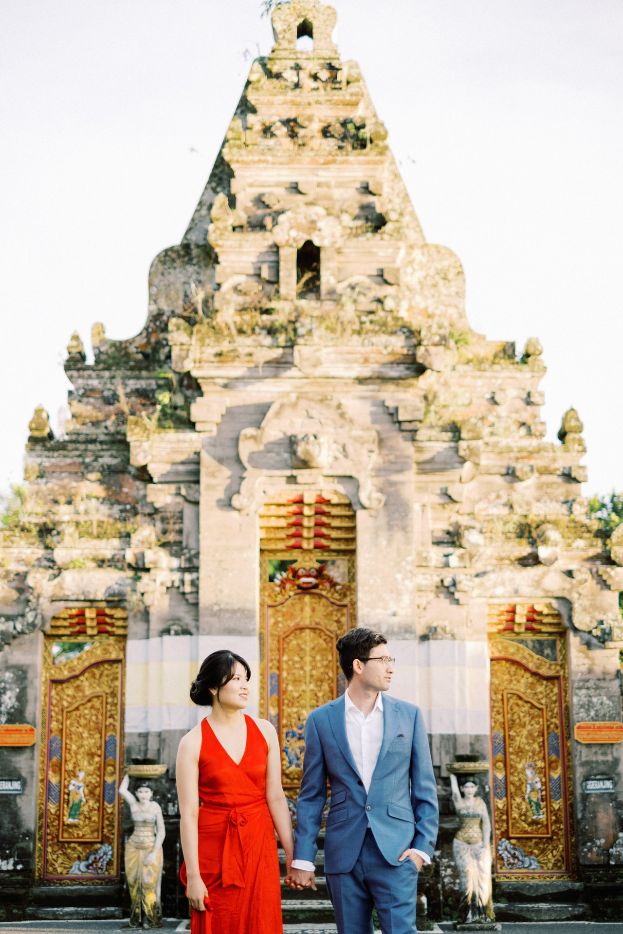 Y&M: Lake Beratan Temple Pre-Wedding 13