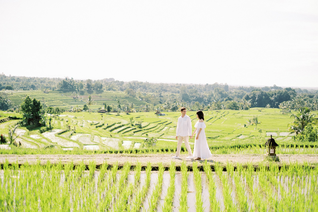 Jatiluwih Rice Terraces Couple Session