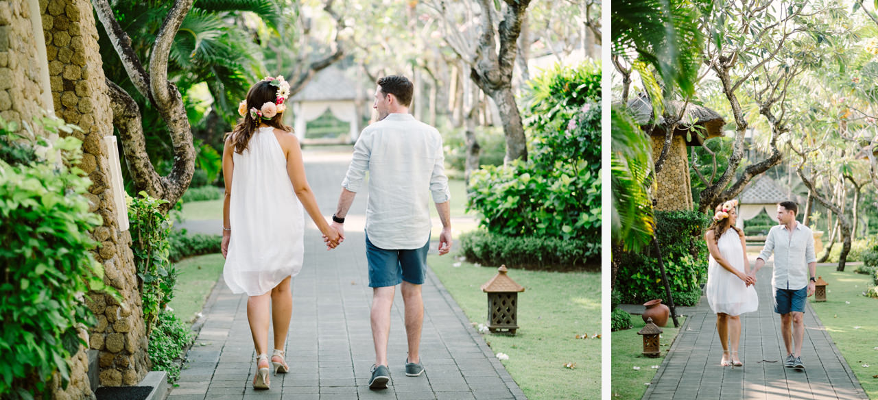 Z&J : Bali Wedding Anniversary Photography Session 1