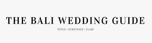 Featured on The Bali Wedding Guide