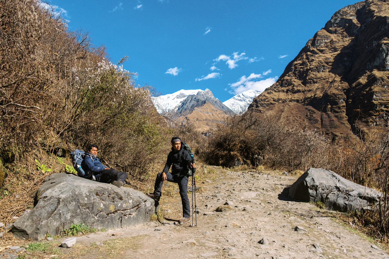 Nepal 2019 - Trekking Annapurna Base Camp 118