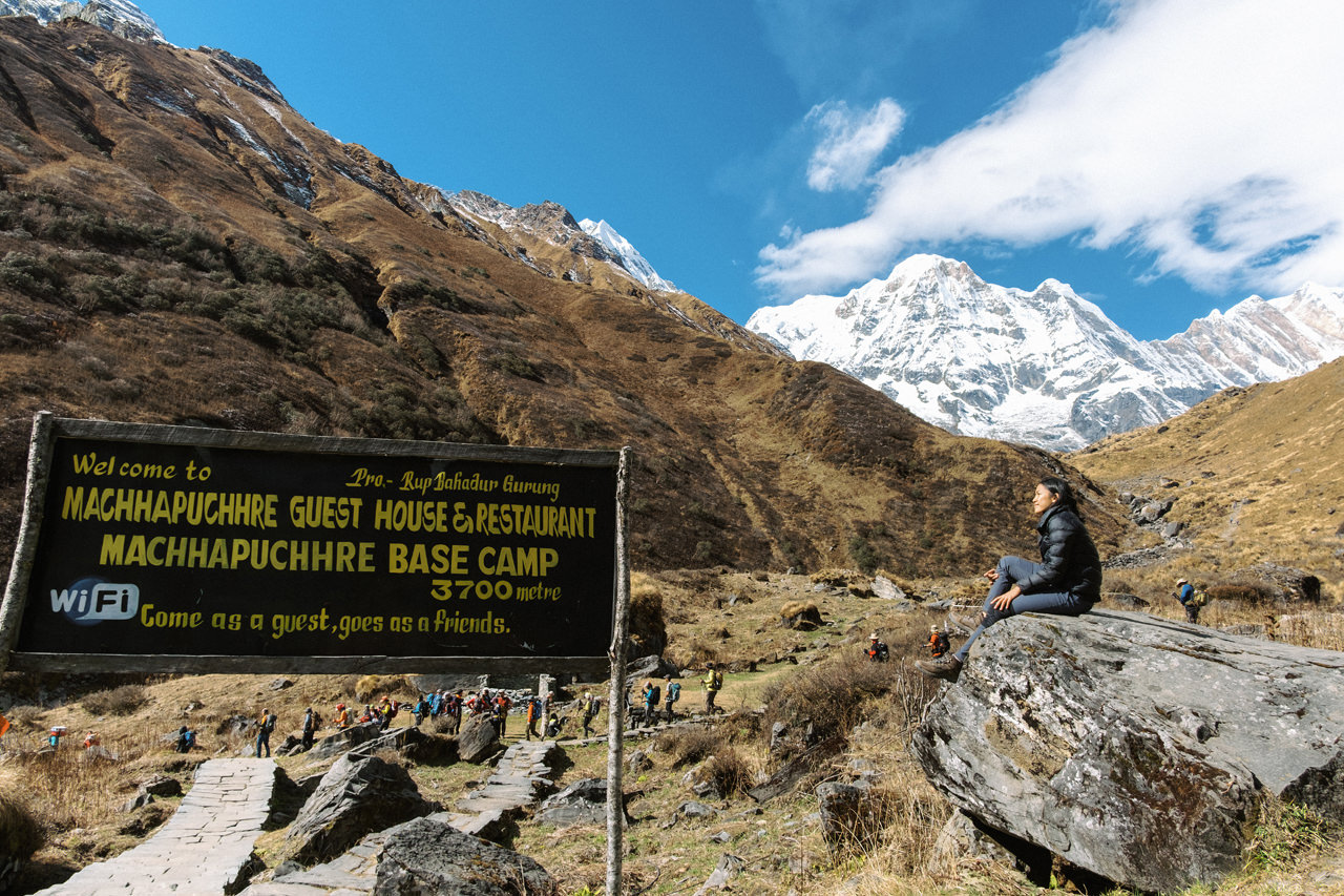 Nepal 2019 - Trekking Annapurna Base Camp 122
