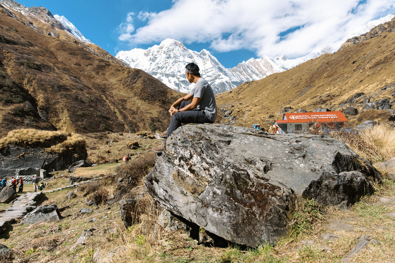 Nepal 2019 - Trekking Annapurna Base Camp 123